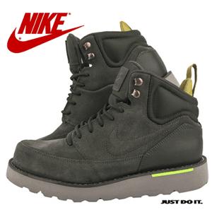 Ghete Nike din piele, de toamna iarna, pentru barbati