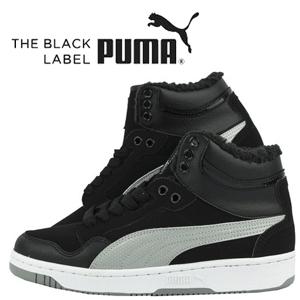 Ghete iarna imblanite model sport Puma Rebound Winter Mid pentru barbati