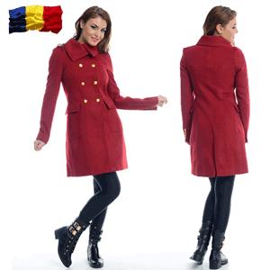 Palton din lana de dama - romanesc