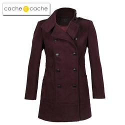 Reduceri de pret la trenciuri, paltoane si jachete de dama Cache Cache Romania