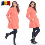 Palton iarna dama din lana fabricat in Romania