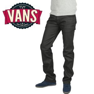 Pantaloni Jeans eleganti negri - Vans V66 Slim