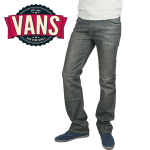 Jeansi Vans pentru baieti Petrol V66