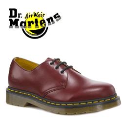 Pantofi din piele Dr Martens Cherry Red