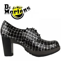 Pantofi din piele lacuita Dr Martens Danielle