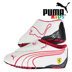 Incaltaminte bebe Puma Crib Ferrari bumbac