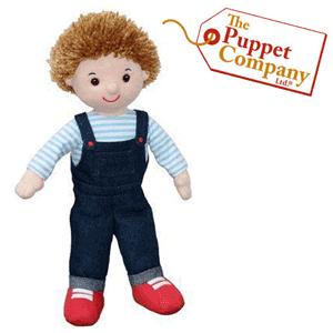 Papusi Colectia Prietenii mei The Puppet Company