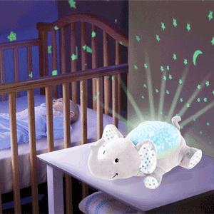 Proiector si lampa cu sunete pentru bebelusi – Summer Elefantul Eddie