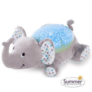 Summer - Proiector si lampa cu sunete Elefantul Eddie