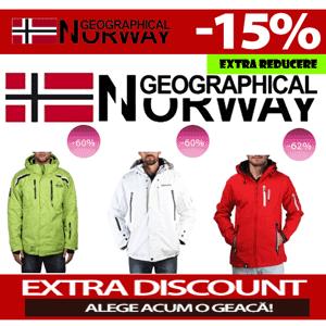 Reduceri de preturi la gecile barbatesti Geographical Norway