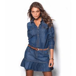 Rochie jeans – denim bumbac 100%