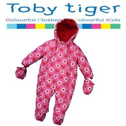 Salopeta iarna bebe Toby Tieger pentru fetite 0-2 ani