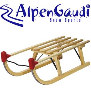 Saniuta clasica traditionala din lemn Alpen Gaudi