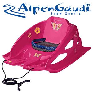 Saniute fetite 1-5 ani Alpen Gaudi cu centura siguranta