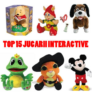 Top 15 al jucariilor interactive pentru copii