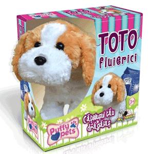 Catelusii Puffy Pets de la Noriel: Fredy Dansatorul, Toto Fluierici si Mimi Plimbareata