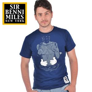 Tricouri Sir Benni Miles din bumbac