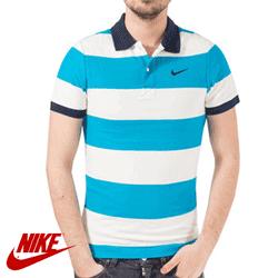 Tricou barbati Nike Stripe Pique Polo