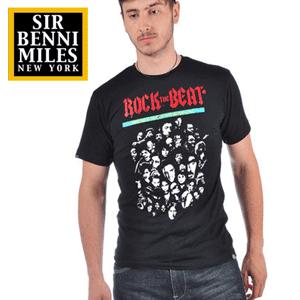 Tricouri barbati Sir Benni Miles Rock the Beat