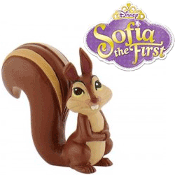 Figurina Veverita Whatnaught - Sofia the First