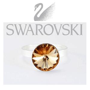 Inele din argint Swarovski Elements
