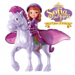 Set Printesa Sofia si calutul Minimus