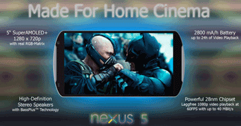 Review smartphone LG Google Nexus 5 - Video
