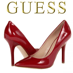 Pantofi cu toc GUESS Cadeo Rosii