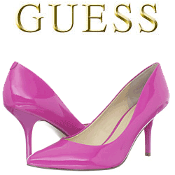 Pantofi cu toc GUESS Guenivier Roz