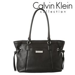 Geanta dama Calvin Klein Key Items, din piele de culoare neagra