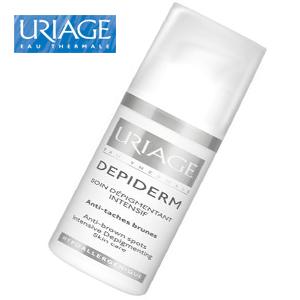 Crema Uriage intensiv depigmentata recomandata si ca baza buna de masaj