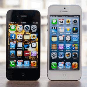 Diferente iPhone 5 vs iPhone 4