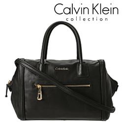 Geanta dama casual Calvin Klein Barrie de culoare neagra