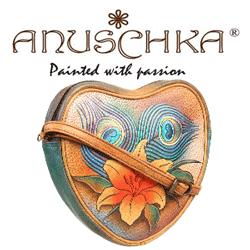 Gentile colorate pictate manual Anuschka Handbags