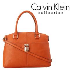 Geanta portocalie dama Calvin Klein Modena