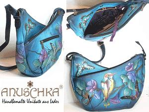 Gentile indiene marca Anuschka Handbags