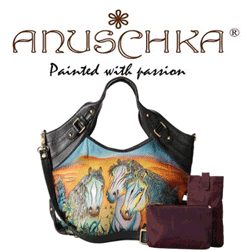 Geanta indiana din piele Anuschka Handbags