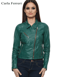 Jacheta din piele de miel Carla Ferreri