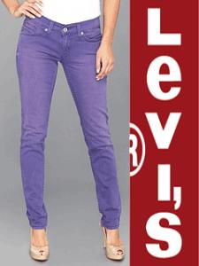 Jeans Levi's 524 Triple Needle Stitch Skinny