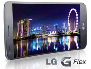 Smartphone LG G Flex Flexibil Review