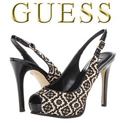 Pantofi cu toc GUESS Huelaly