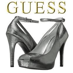 Pantofi cu toc GUESS Adinna Gri