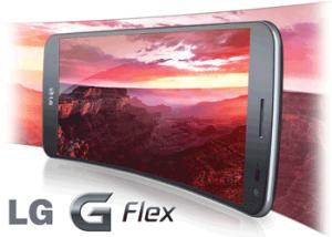 Telefonul cu ecran flexibil LG G Flex