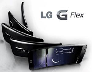 Smartphone LG G Flex - Ecran Gorilla Glass flexibil