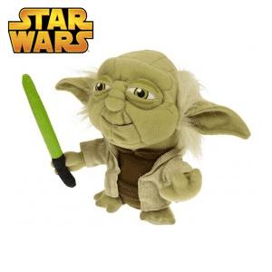 Jucarie Star Wars Maestrul Yoda din plus