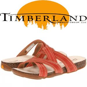 Sandale slapi de dama Timberland din piele