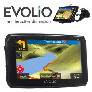 Sistem de navigatie EVOLIO Hi-Speed TRAFFIC Full Europa