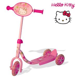 Trotineta Hello Kitty pentru fetite 3-5 ani