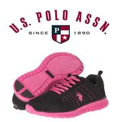 Adidasi dama U.S. Polo ASSN Fucsia