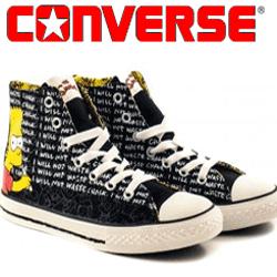 Bascheti copii Converse All Stars Simpsons